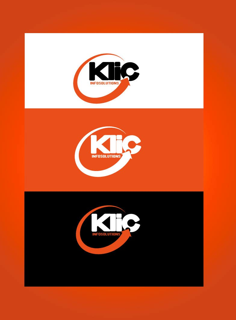 Logo Design for Klic Infosolutions