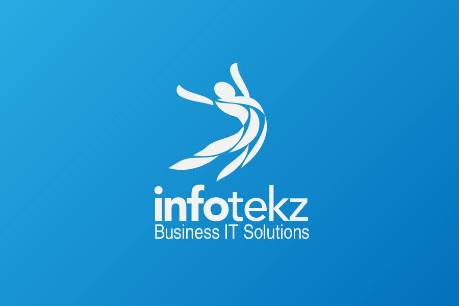 Logo Design for INFOTEKZ  (Please Try 3D Logo/Font) : Please see attached vector image