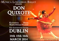 #220 for Graphic Design for Classical ballet event called Don Quixote by aqshivani