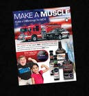 #7 for Advertisement Design for Throttle Muscle by csoxa