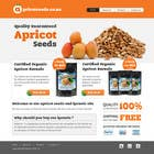 #25 for Graphic Design - Redesign FRONT PAGE Only - apricotseeds.co.nz website by vigneshhc