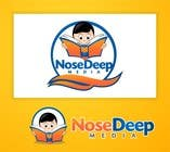 #81 for Logo Design for eBook company Nose Deep Media by jummachangezi