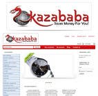 #207 for Logo Design for kazababa by anjaliarun09