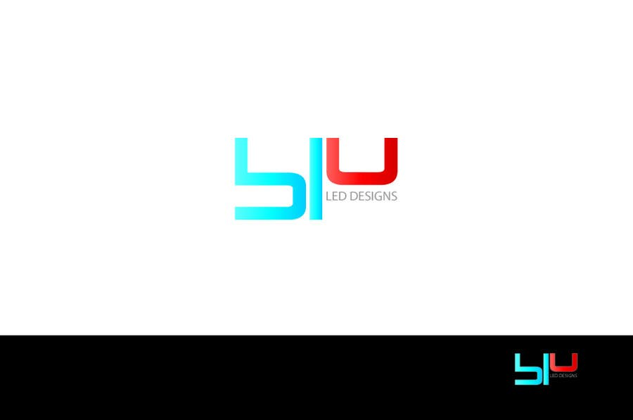 Logo Design for Blu LED Company