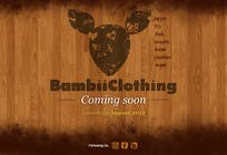#11 for Graphic Design for bambii clothing.ca by tuanrobo