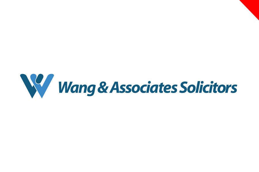 Logo Design for Wang & Associates Solicitors