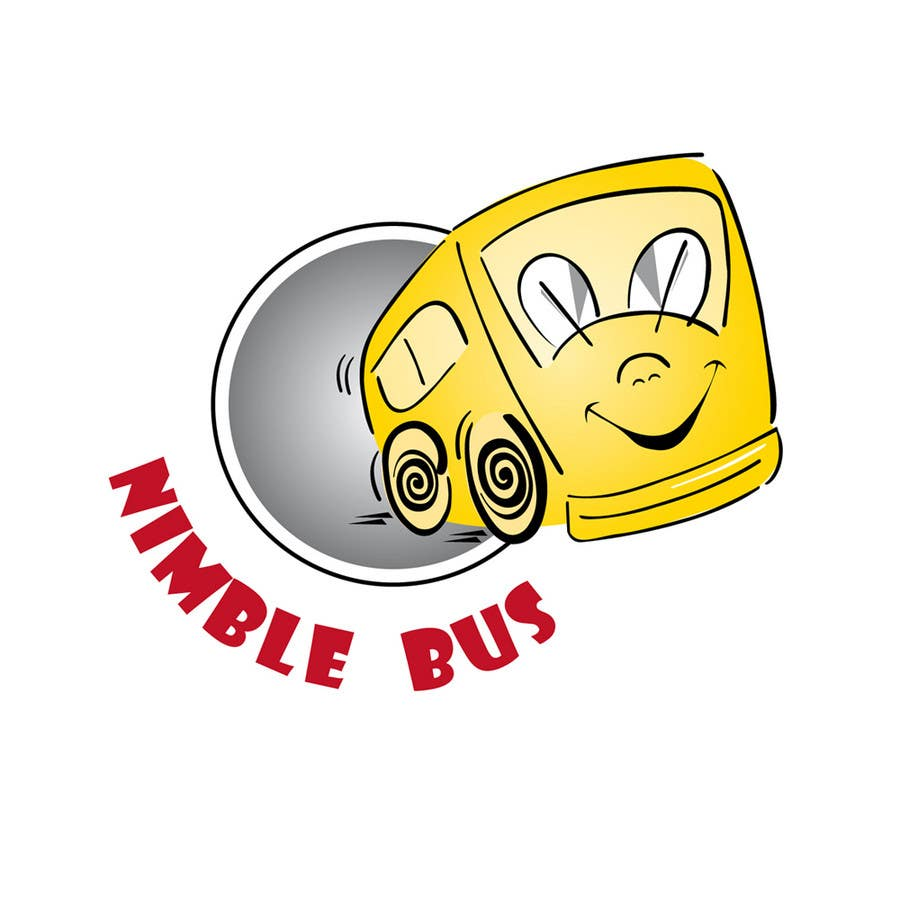 Logo Design for a business using a bus for its theme
